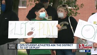 Rally urges OPS to resume fall sports