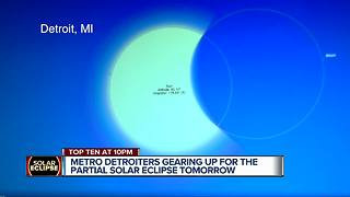 Solar Eclipse viewing parties in Metro Detroit - Video