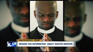 Cleveland minister 'Taj Mahal Frazer' wanted for making false statements, sexual conduct with minor
