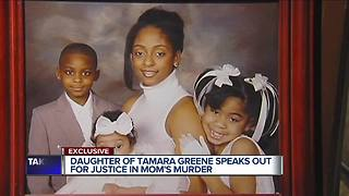 Daughter of Tamara Greene speaks out for justice in mother's murder - Video