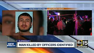 Suspect shot and killed by police in Glendale - Video