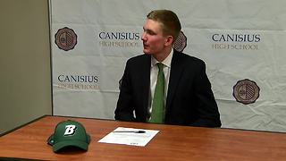 Jack Collins signs athletic scholarship - Video