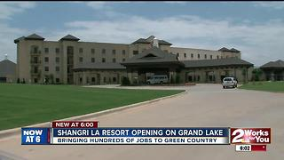 Shangri La Resort opens at Grand Lake - Video