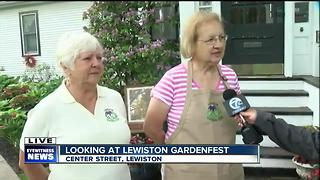 'Garden Walk' open to attendees of 12th annual Lewiston GardenFest - Video