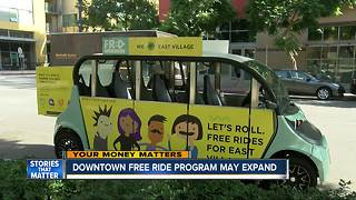 Downtown San Diego free ride program could get big boost - Video
