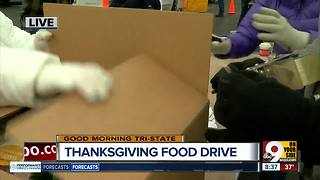 Crossroads Cincinnati shares 115,000 Thanksgiving meals - Video