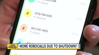 Robocalls increase during government shutdown