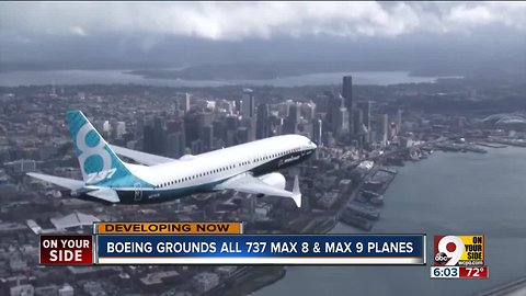 Boeing's suspension of 737 Max services should have little impact at CVG