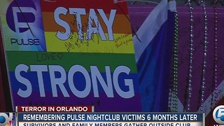 Memorial held for Pulse victims 6 months after shooting - Video