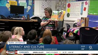 Local author inspires children with her work