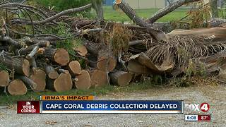 Cape Coral debris removal scheduled Wednesday