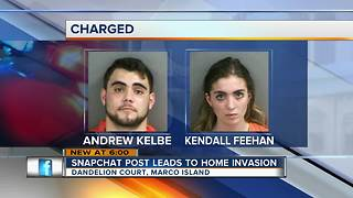 Two charged with armed burglary, assault on Marco Island woman - Video
