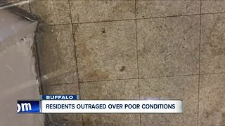Tenants feed up with poor living conditions - Video