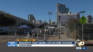 Residents fight more low-income housing - Video