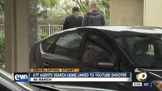 ATF agents search 4S Ranch home linked to YouTube shooter - Video