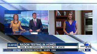 State offers free radon testing kits - Video