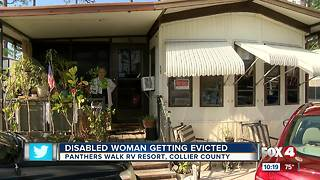 Disabled woman could be evicted