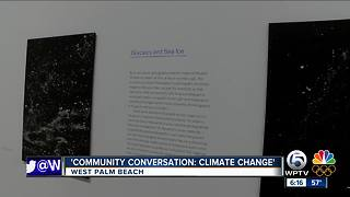 Program on climate change held at Norton Museum of Art