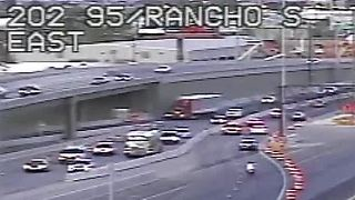 U.S. 95 ramp closure, lane shifts through January in Las Vegas - Video