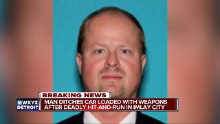 Imlay PD: Man ditches car with loaded weapons after fatal hit-and-run - Video