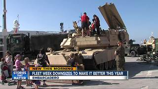 Fleet Week downsizes to improve experience - Video