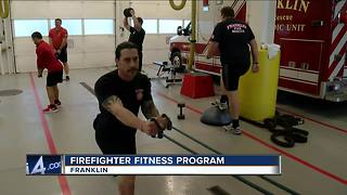 Franklin Fire Department program keeps firefighters in shape, helps prevent injuries - Video