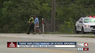 Parents concerned about parking at school