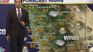 Robert's forecast for January 1, 2017