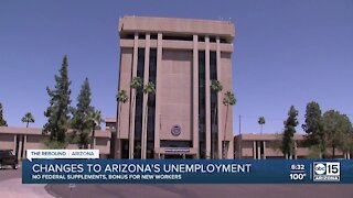 What does Gov. Ducey's unemployment benefits change mean for Arizonans?