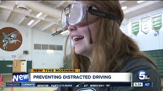 Nordonia High School fights distracted driving