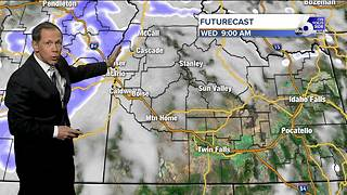 Snow and Rain Bearing Down on Idaho - Video