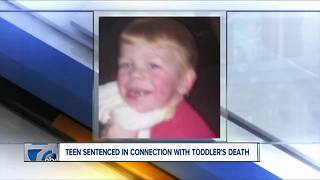 Teen sentenced in connection with toddler's death - Video