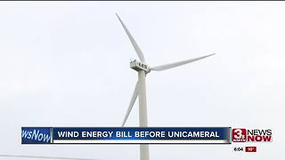 Wind energy bill discussed in the legislature - Video