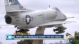 Report: Tom Cruise in San Diego filming