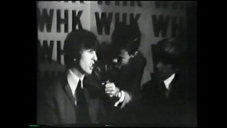 Don Webster interviews The Beatles and The Rolling Stones