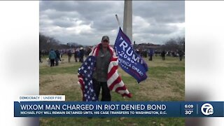Wixom man, former Marine who 'led the charge' in US Capitol riot will remain locked up