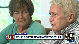 Valley couple beating cancer odds at Valley hospital - Video