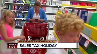 Ohio sales tax holiday timed for back-to-school shopping - Video
