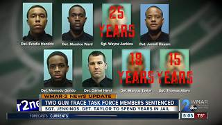 Gun Trace Task Force members sentenced to length prison terms - Video