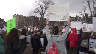 Speaker says 'we are strong' at March for Our Lives rally in Boston - Video