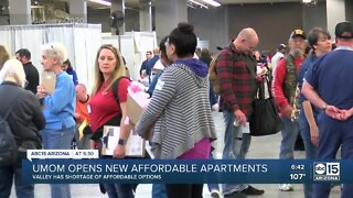 UMOM opens new affordable apartments