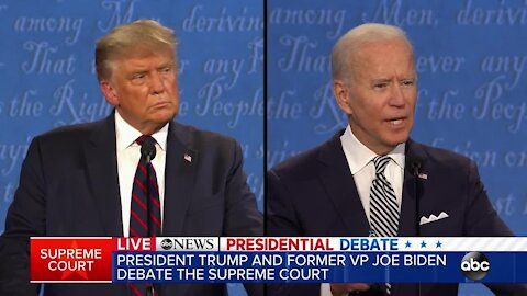 Full first presidential debate of 2020 between President Donald Trump and Joe Biden
