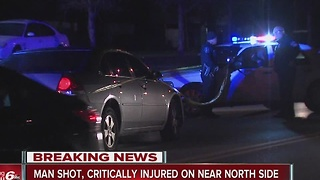 Man shot, critically injured in near north side shooting - Video