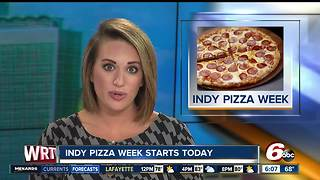 Eat half-price pizzas through Indy Pizza Week - Video