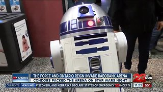 The Force and Ontario Reign invade Rabobank Arena