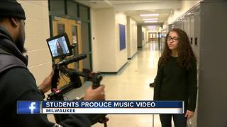 MPS students produce anti-bullying music video - Video
