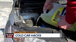 Cold weather car hacks from AAA Auto Wash - Video