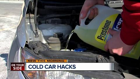 Cold weather car hacks from AAA Auto Wash