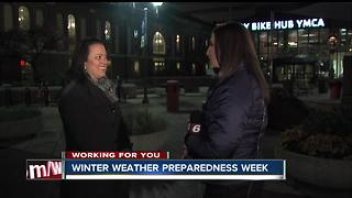 Winter weather preparedness week with the Office of Sustainability - Video