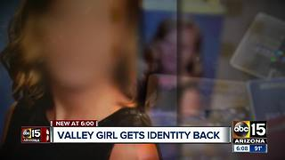 Valley teen gets identity back after ABC15 investigation - Video